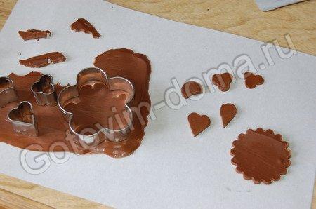 Как из шоколада сделать фигурки